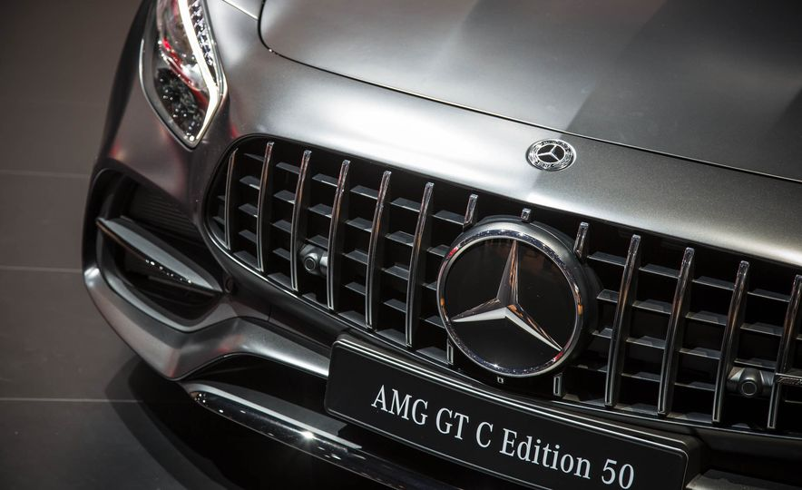 2018 Mercedes-AMG GT C Edition 50 coupe & 2018 Mercedes-AMG GT S - Slide 14