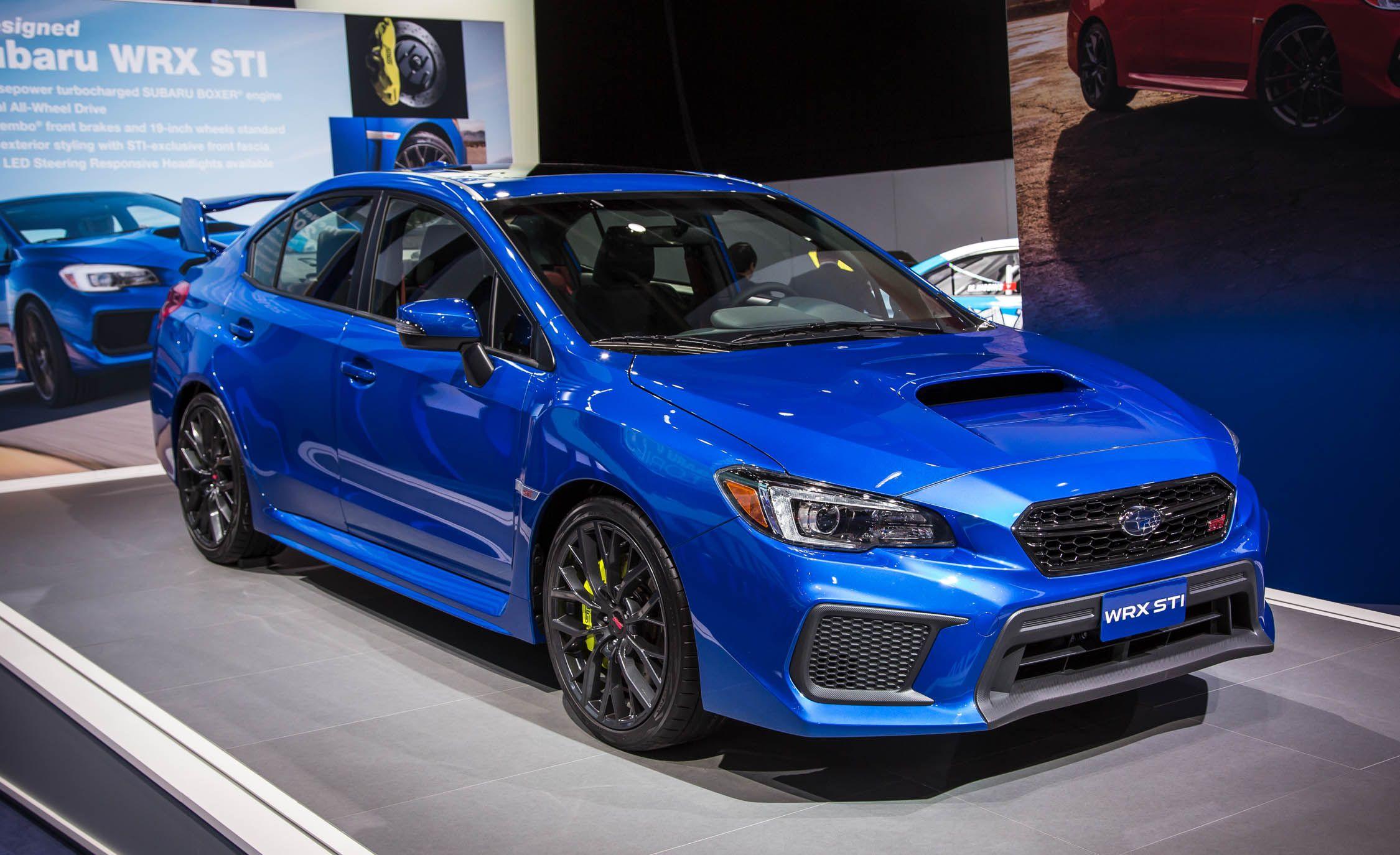 2019 Subaru Wrx Reviews Price Photos And Specs Car Driver