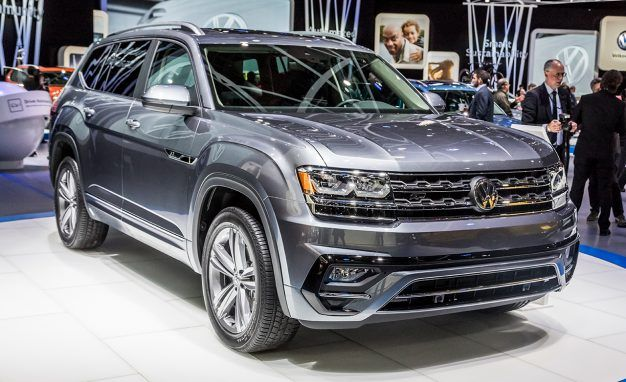 Volkswagen Atlas First Drive Review Car And Driver - Car show chattanooga 2018