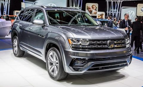2018 Volkswagen Atlas R Line Placement