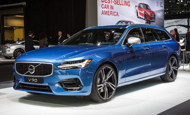 2018 Volvo V90 R-Design Photo Gallery