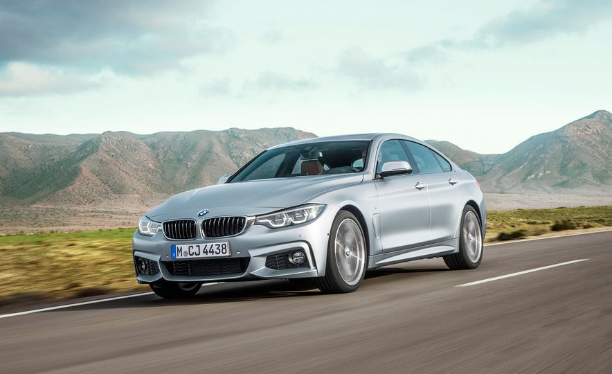 2018 BMW 4-series Gran Coupe: Sleek Four-Door Tweaked - Slide 1