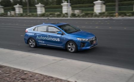 Self-Driving Slicktop: Hyundai Shows Off Autonomous Ioniq