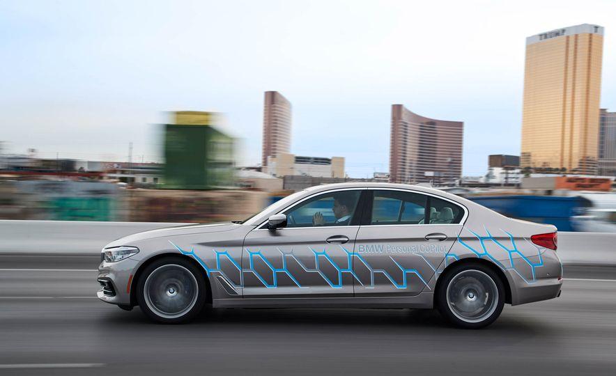 BMW 5-Series ConnectedDrive prototype - Slide 5