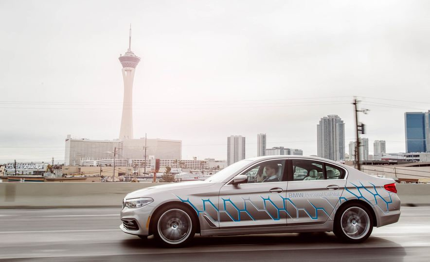 BMW 5-Series ConnectedDrive prototype - Slide 9