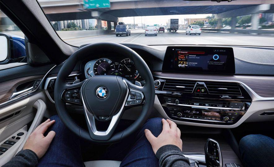 BMW 5-Series ConnectedDrive prototype - Slide 16