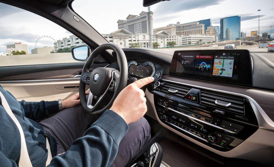BMW 5-Series ConnectedDrive prototype - Slide 17