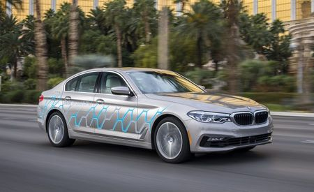 Move Over, Autopilot: BMW Unveils Autonomous 5-series Prototype