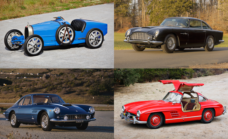 The 25 Most Expensive Cars from the Year's Biggest Collector-Car Auction Weekend