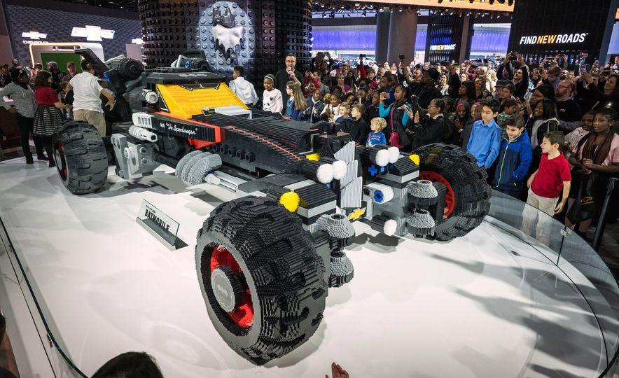 Bat Blocks: Lego Builds a Batmobile for Chevrolet - Slide 2