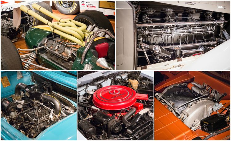 Engines au Naturel: An Unfettered Look Under the Hood at Some of History's Most Significant Engines