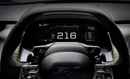 Here's How the Ford GT's Gauge Cluster Changes with Its Drive Modes