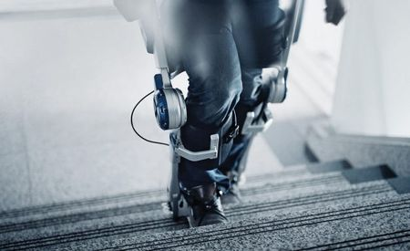 Hyundai's Human Exoskeleton Technology Could Help Paraplegics Walk Again