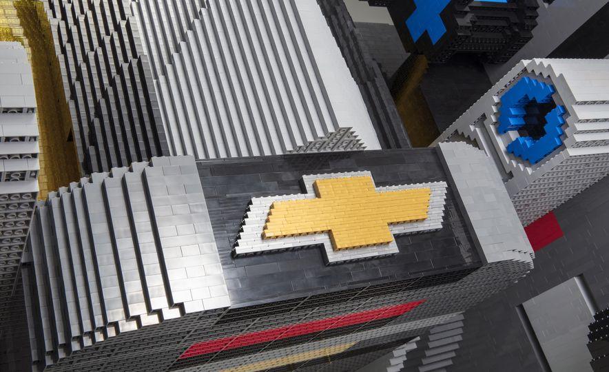 Bat Blocks: Lego Builds a Batmobile for Chevrolet - Slide 10