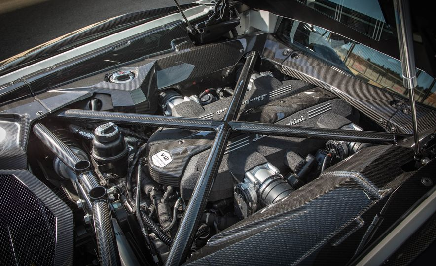 2017 Lamborghini Aventador S - Slide 77