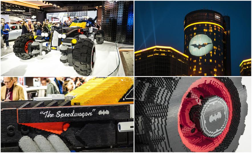Bat Blocks: Lego Builds a Batmobile for Chevrolet - Slide 1