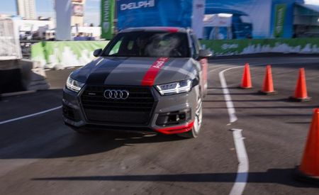 Automated Driver, Closed Course: We Ride in Audi and Nvidia's Self-Driving Q7