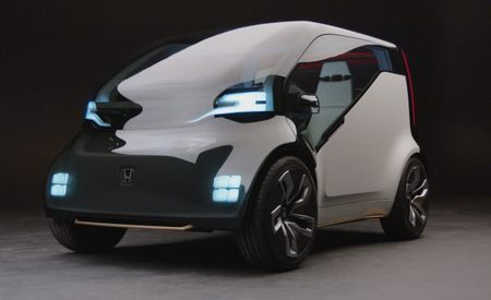 I, Honda: Honda Shows Self-Balancing Motorcycle and Car That Detects Your Feelings