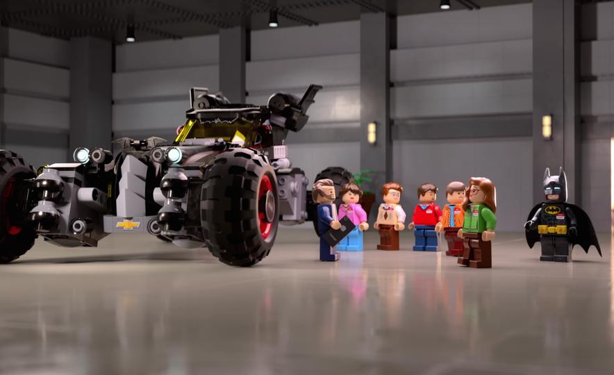 Bat Blocks: Lego Builds a Batmobile for Chevrolet - Slide 11