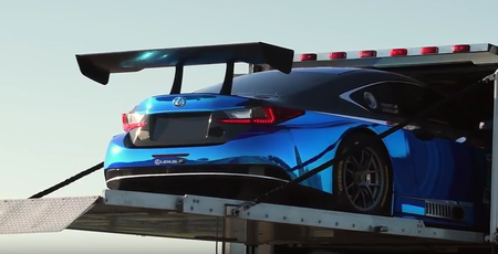 Watch 3GT Racing Prepare the Lexus RC F GT3 for the 24 Hours of Daytona