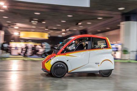 We Drive the Shell Gordon Murray Concept Car inside Cobo
