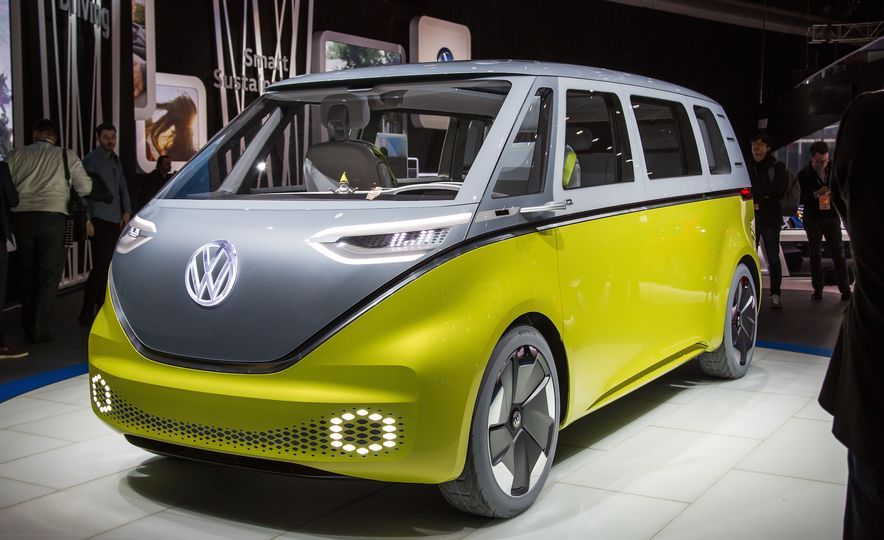 Space Exploration: A Close-Up Look at Volkswagen's I.D. Buzz Concept - Slide 2
