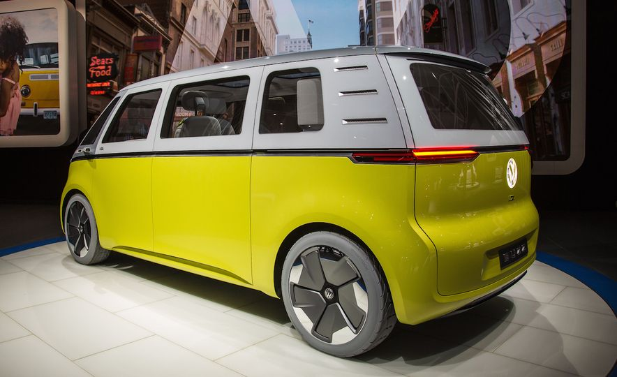 Space Exploration: A Close-Up Look at Volkswagen's I.D. Buzz Concept - Slide 16