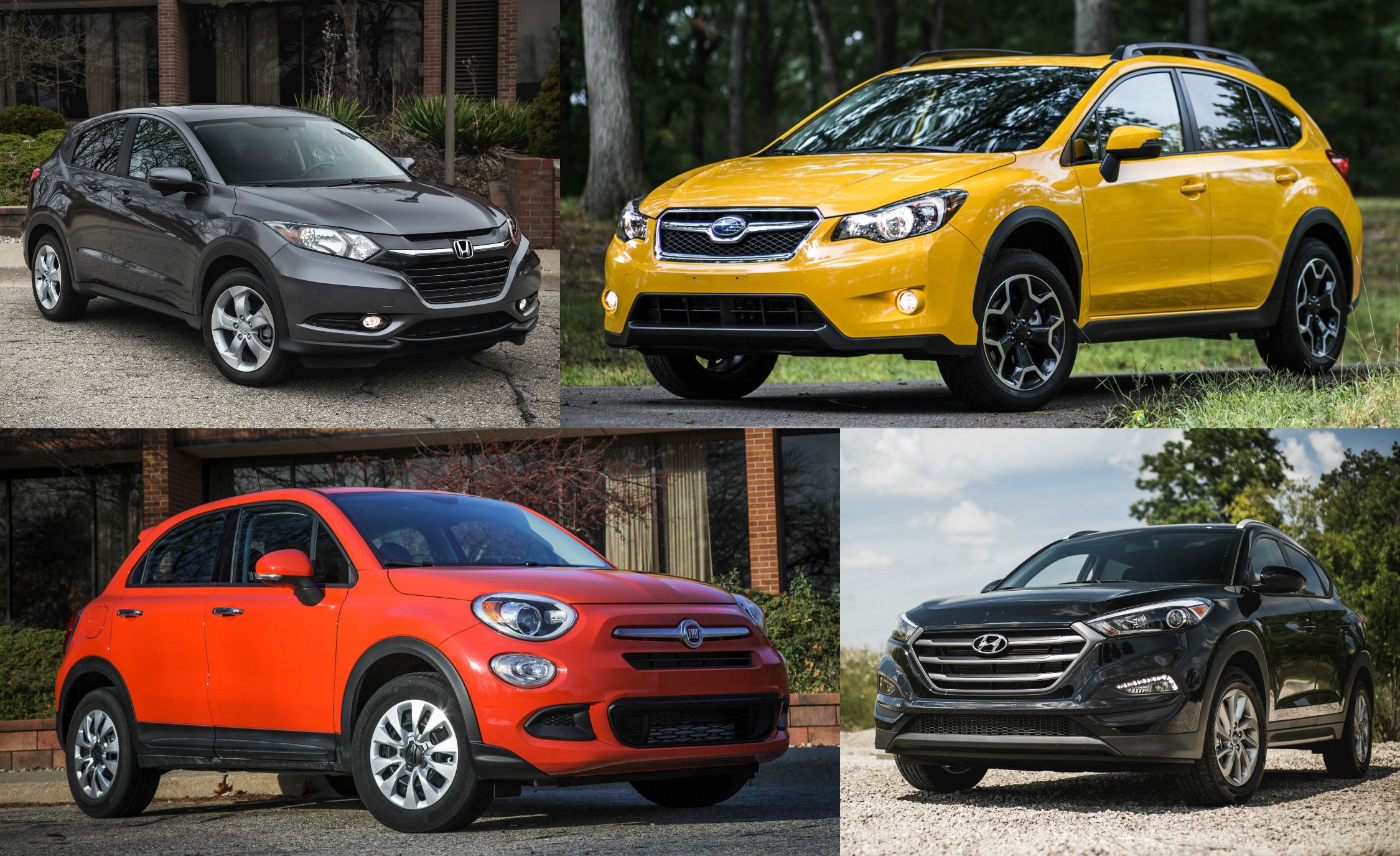 The  Cheapest New Suvs And Crossovers Of