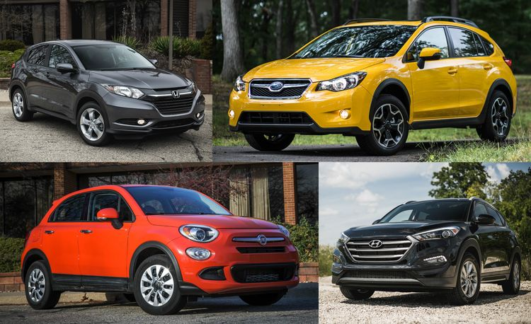 The 15 Cheapest New SUVs and Crossovers of 2017