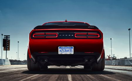 Wide-Body Dodge Challenger Demon Gets Drag Radials As Standard—AWD, Too?