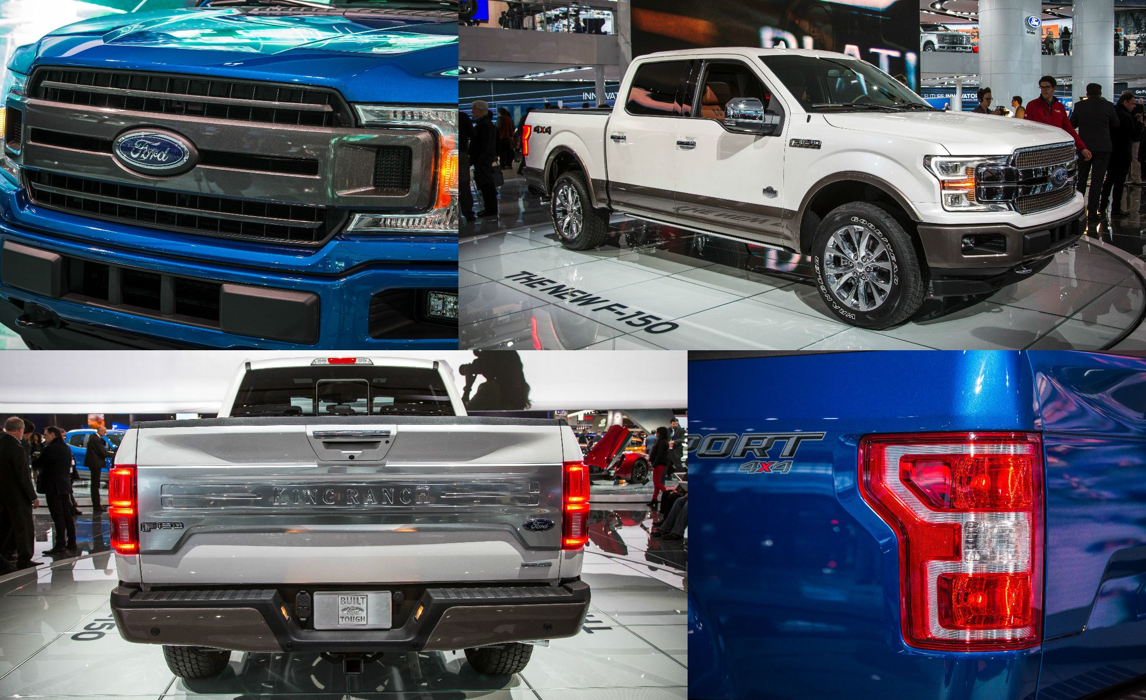 pickup s progress here s what s new on the 2018 ford f 150 rh caranddriver com Ford 150 to Silverado Ford Chevy Dodge