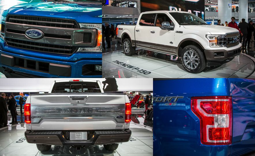 Pickup's Progress: Here's What's New on the 2018 Ford F-150 - Slide 1