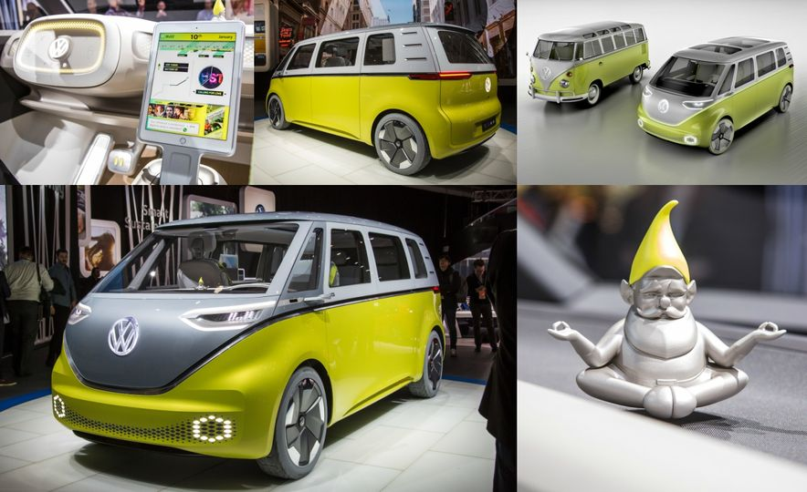 Space Exploration: A Close-Up Look at Volkswagen's I.D. Buzz Concept - Slide 1