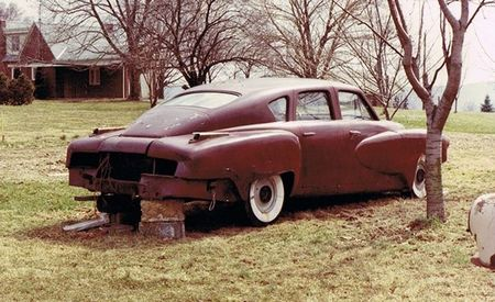 A $3 Million Tucker 48 Prototype Once Was Discovered Stuck in Mud behind a Barn