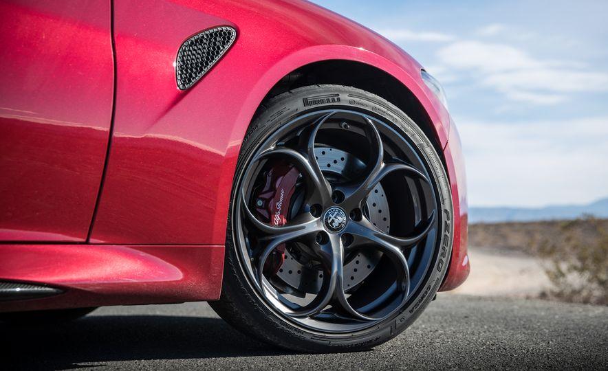 2017 Cadillac ATS-V, 2017 Alfa Romeo Giulia Quadrifoglio, 2017 BMW M3, 2017 Mercedes-AMG C63 S - Slide 13
