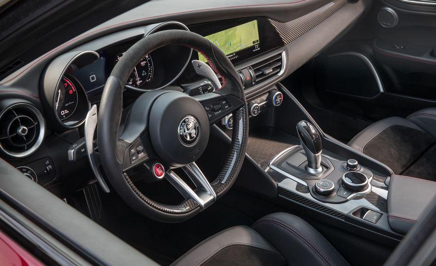 2017 Cadillac ATS-V, 2017 Alfa Romeo Giulia Quadrifoglio, 2017 BMW M3, 2017 Mercedes-AMG C63 S - Slide 14