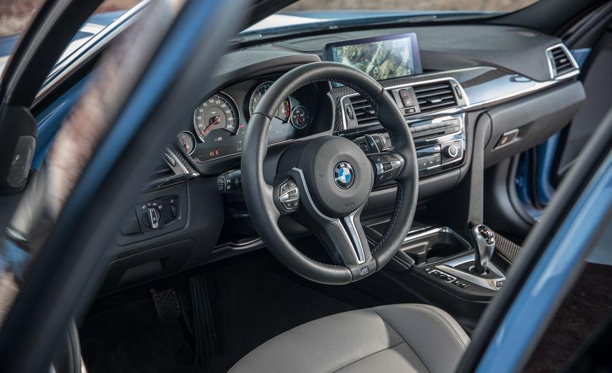 2017 Cadillac ATS-V, 2017 Alfa Romeo Giulia Quadrifoglio, 2017 BMW M3, 2017 Mercedes-AMG C63 S - Slide 21