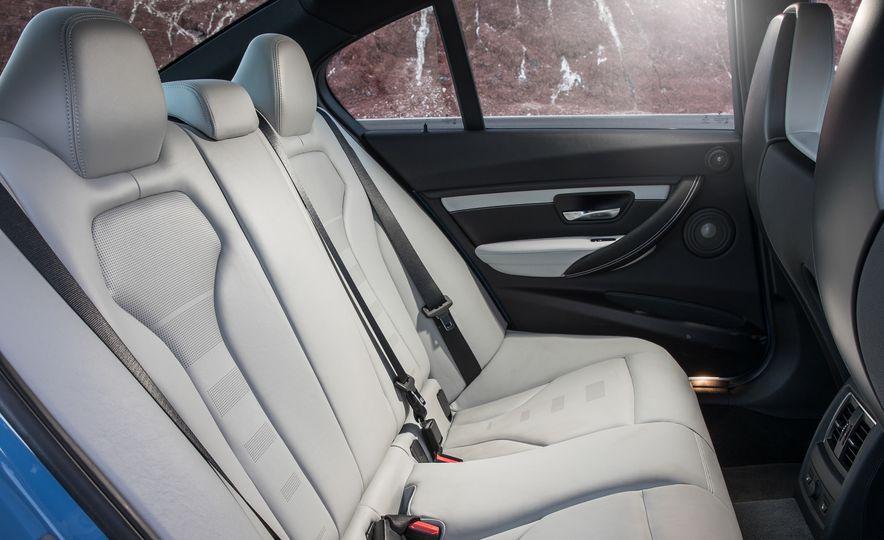2017 Cadillac ATS-V, 2017 Alfa Romeo Giulia Quadrifoglio, 2017 BMW M3, 2017 Mercedes-AMG C63 S - Slide 23