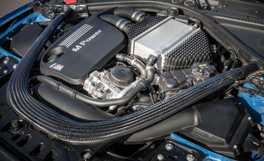 2017 Cadillac ATS-V, 2017 Alfa Romeo Giulia Quadrifoglio, 2017 BMW M3, 2017 Mercedes-AMG C63 S - Slide 25