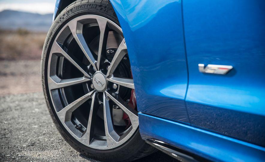 2017 Cadillac ATS-V, 2017 Alfa Romeo Giulia Quadrifoglio, 2017 BMW M3, 2017 Mercedes-AMG C63 S - Slide 30