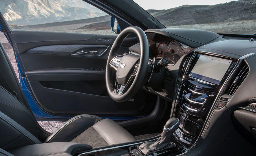 2017 Cadillac ATS-V, 2017 Alfa Romeo Giulia Quadrifoglio, 2017 BMW M3, 2017 Mercedes-AMG C63 S - Slide 32