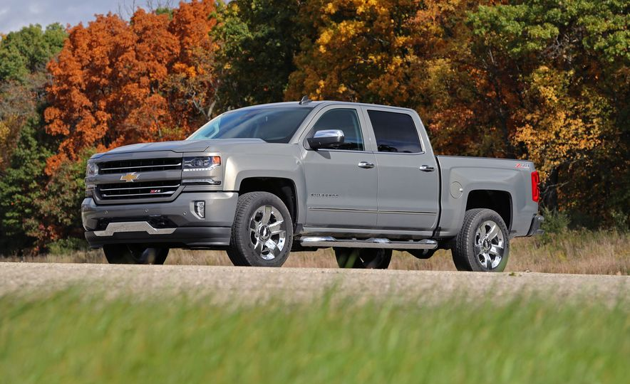2017 Chevrolet Silverado 1500 – Overview - Slide 1