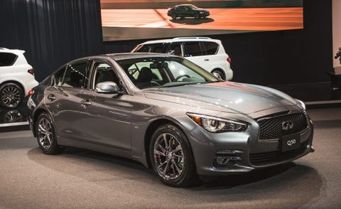 2017 Infiniti Q50 Signature Edition Placement