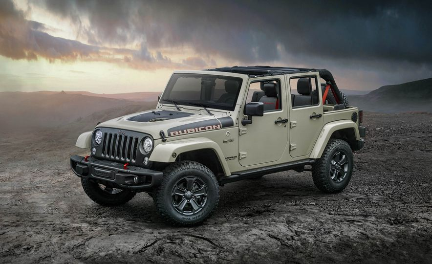 2017 Jeep Wrangler Rubicon Recon Edition - Slide 1