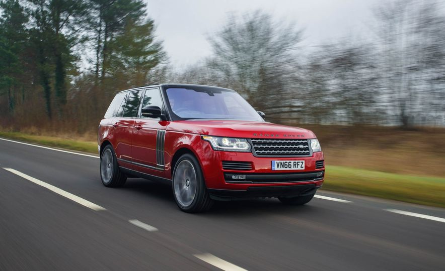2017 Land Rover Range Rover SVAutobiography Dynamic - Slide 1