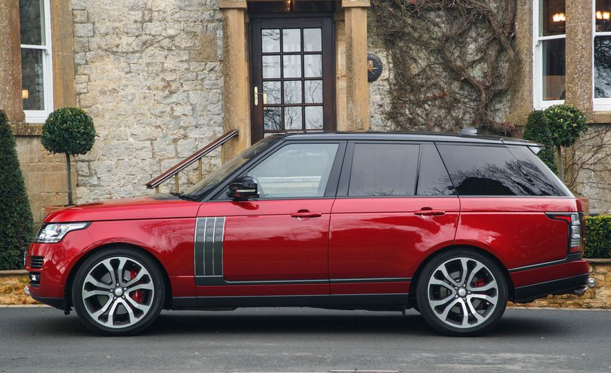 2017 Land Rover Range Rover SVAutobiography Dynamic - Slide 13