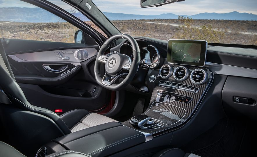 2017 Cadillac ATS-V, 2017 Alfa Romeo Giulia Quadrifoglio, 2017 BMW M3, 2017 Mercedes-AMG C63 S - Slide 38