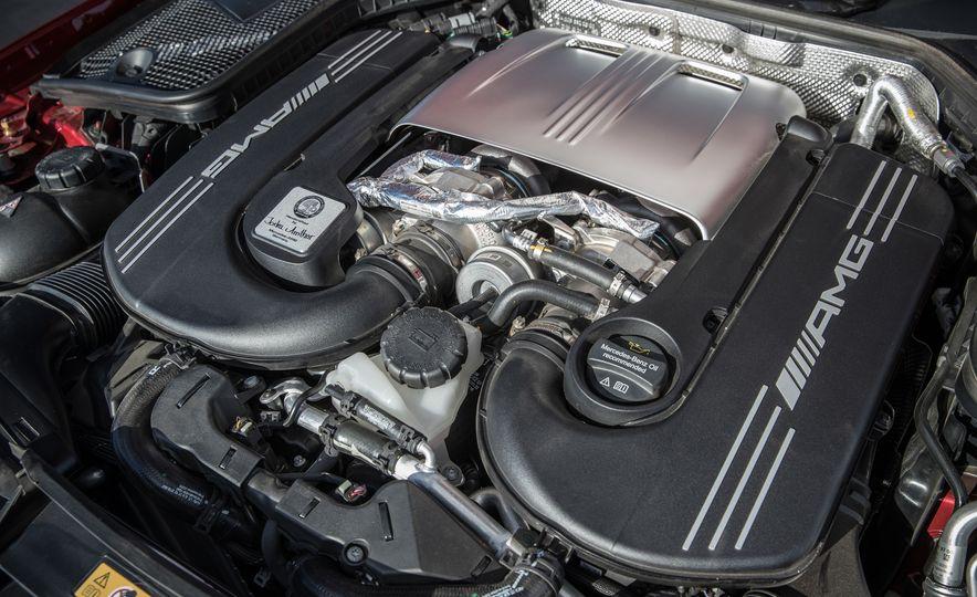 2017 Cadillac ATS-V, 2017 Alfa Romeo Giulia Quadrifoglio, 2017 BMW M3, 2017 Mercedes-AMG C63 S - Slide 40