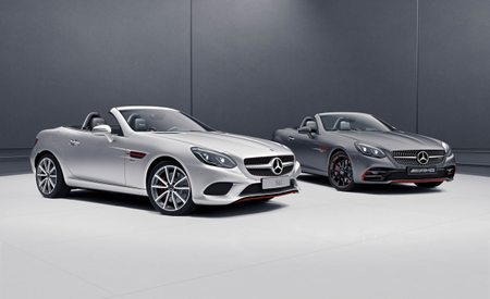 Red Pair: Mercedes-Benz Introduces SLC-class RedArt Editions