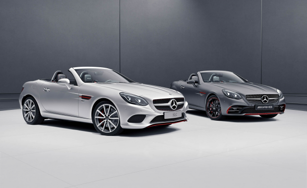 Red Pair: Mercedes-Benz Introduces SLC-class RedArt Editions